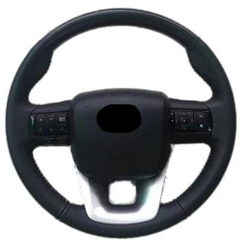 Sports Black Leather Steering Wheel Kit suitable for Toyota N80/LC70/LC200