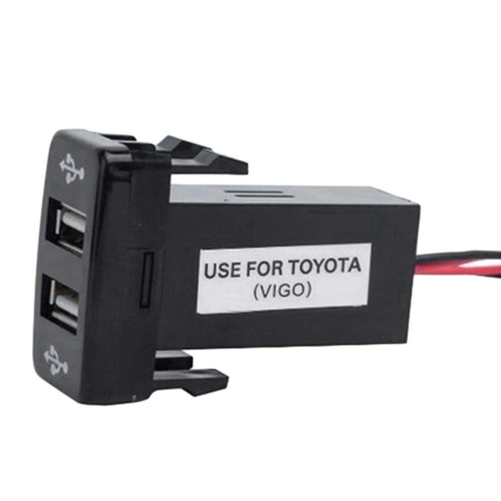 5v 21a Usb Interface Socket Charger For Toyota Hilux Hiace Fj Cruiser Prado 79 Series