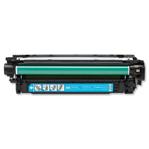 Compatible HP CE251A 504A Cyan Printer Laser Toner Cartridge - Toner King