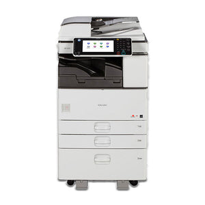 Pre Owned Ricoh MP 3053 Monochrome Printer Copier Color Scan 12x18 11x17