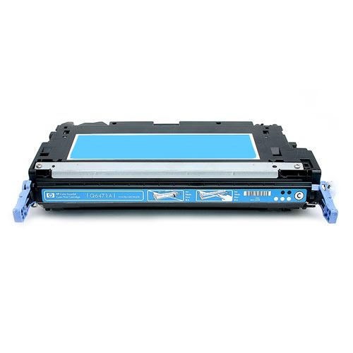 Compatible HP Q6471A 502A Cyan Printer Laser Toner Cartridge - Toner King
