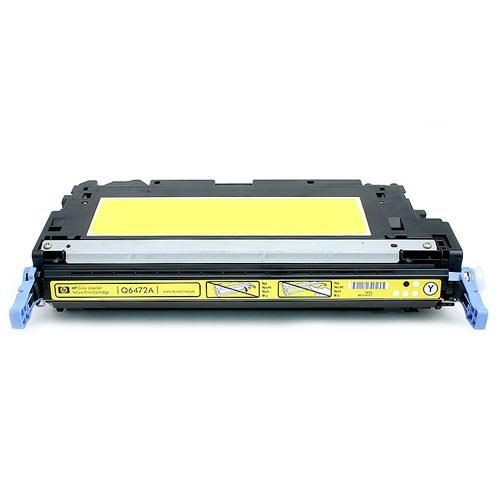 Compatible HP Q6472A 502A Yellow Printer Laser Toner Cartridge - Toner King