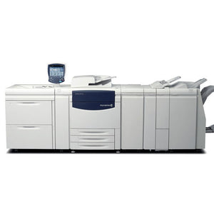 Pre-owned Xerox Color C75 Press Production Printer Business Copier Large Capacity Tray Booklet maker Finisher