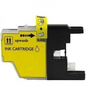 New Compatible Brother LC-75 LC75 Ink Cartridge Yellow High Yield