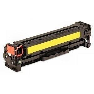 Compatible Toner Cartridge for HP CB542A 125A Yellow