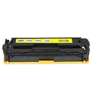 Compatible Toner Cartridge for HP CF212A 131A Yellow