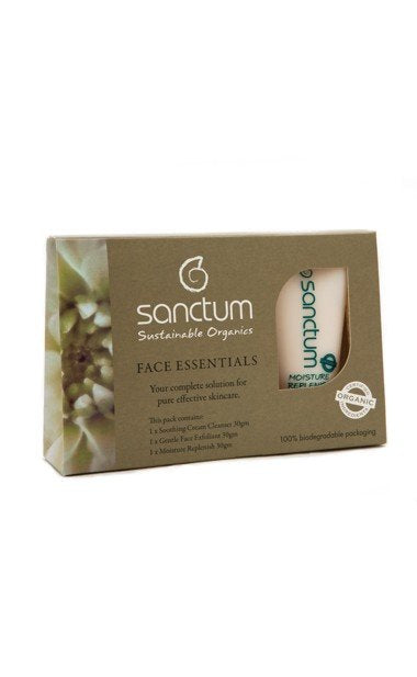 Sanctum Face Essentials Travel 3x30 ml (Eko, Vegan) Brun utan sol