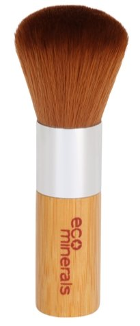 ECO minerals Supersoft Kabuki brush (Vegan) Brun utan sol