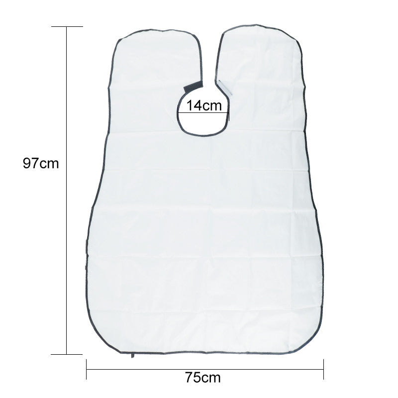 Man Hair Beard Shaving Catcher Apron
