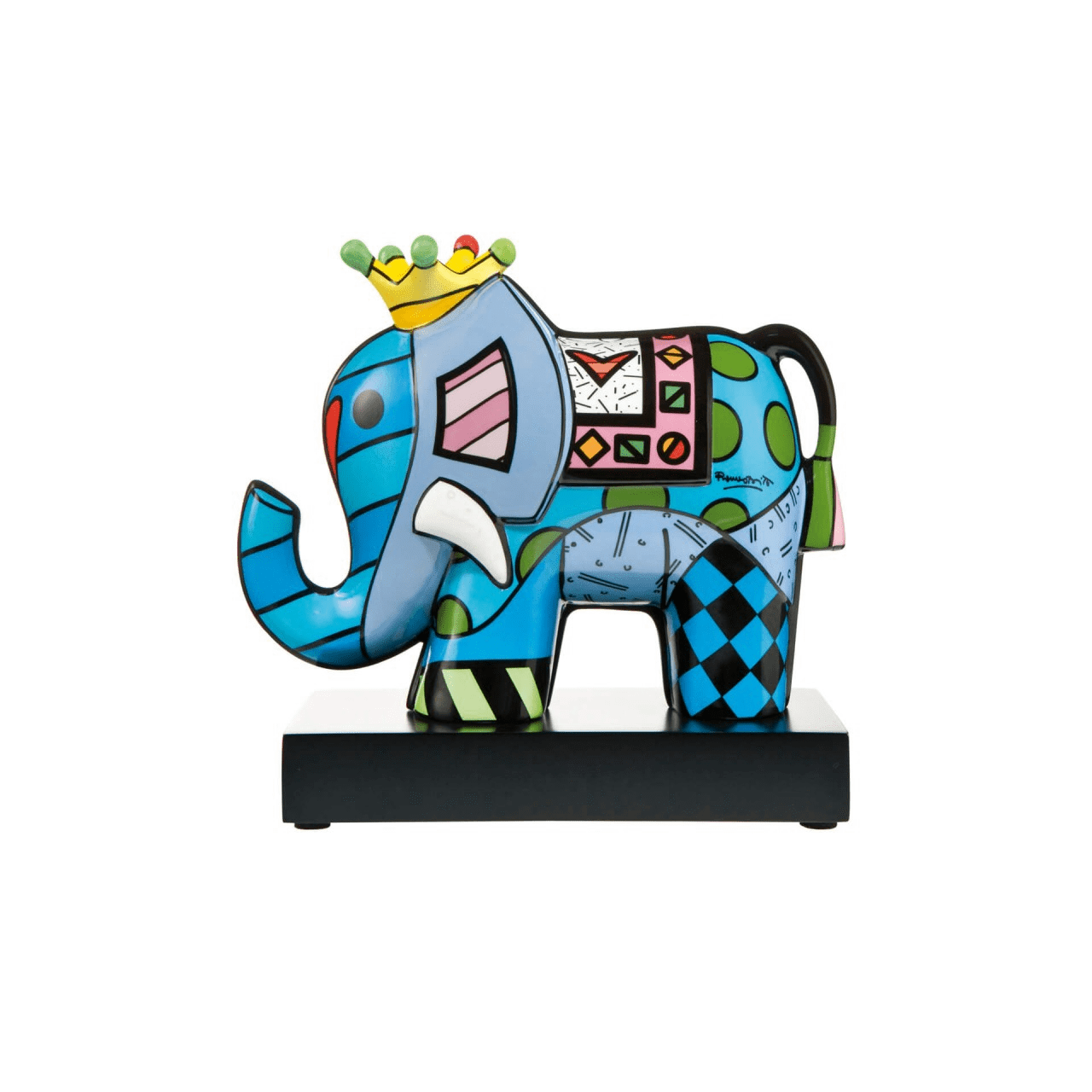 "Romero Britto "" Great India 3 """