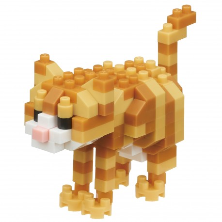 Chat Tabby  en Nano block