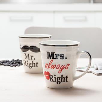 Tasses mrs et mr right