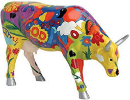 Cow Parade Groovy Moo