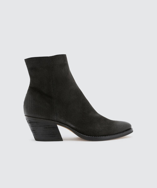 ASHA BOOTIES IN BLACK -   Dolce Vita