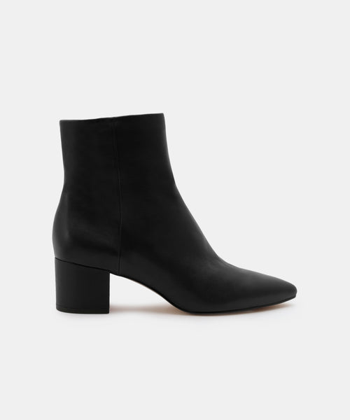 BEL WIDE BOOTIES IN BLACK -   Dolce Vita