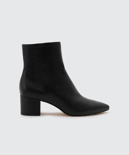 BEL BOOTIES IN BLACK -   Dolce Vita