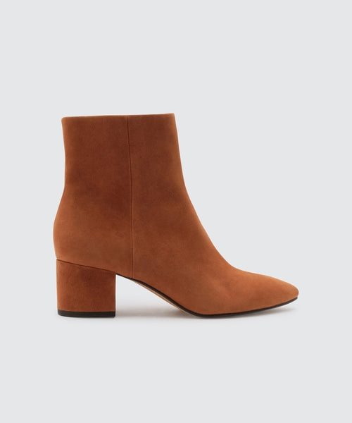 BEL BOOTIES IN BROWN -   Dolce Vita