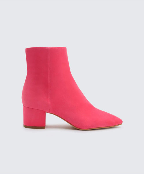 BEL BOOTIES IN FUCHSIA -   Dolce Vita