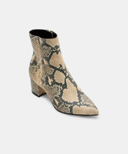 BEL BOOTIES IN SNAKE -   Dolce Vita