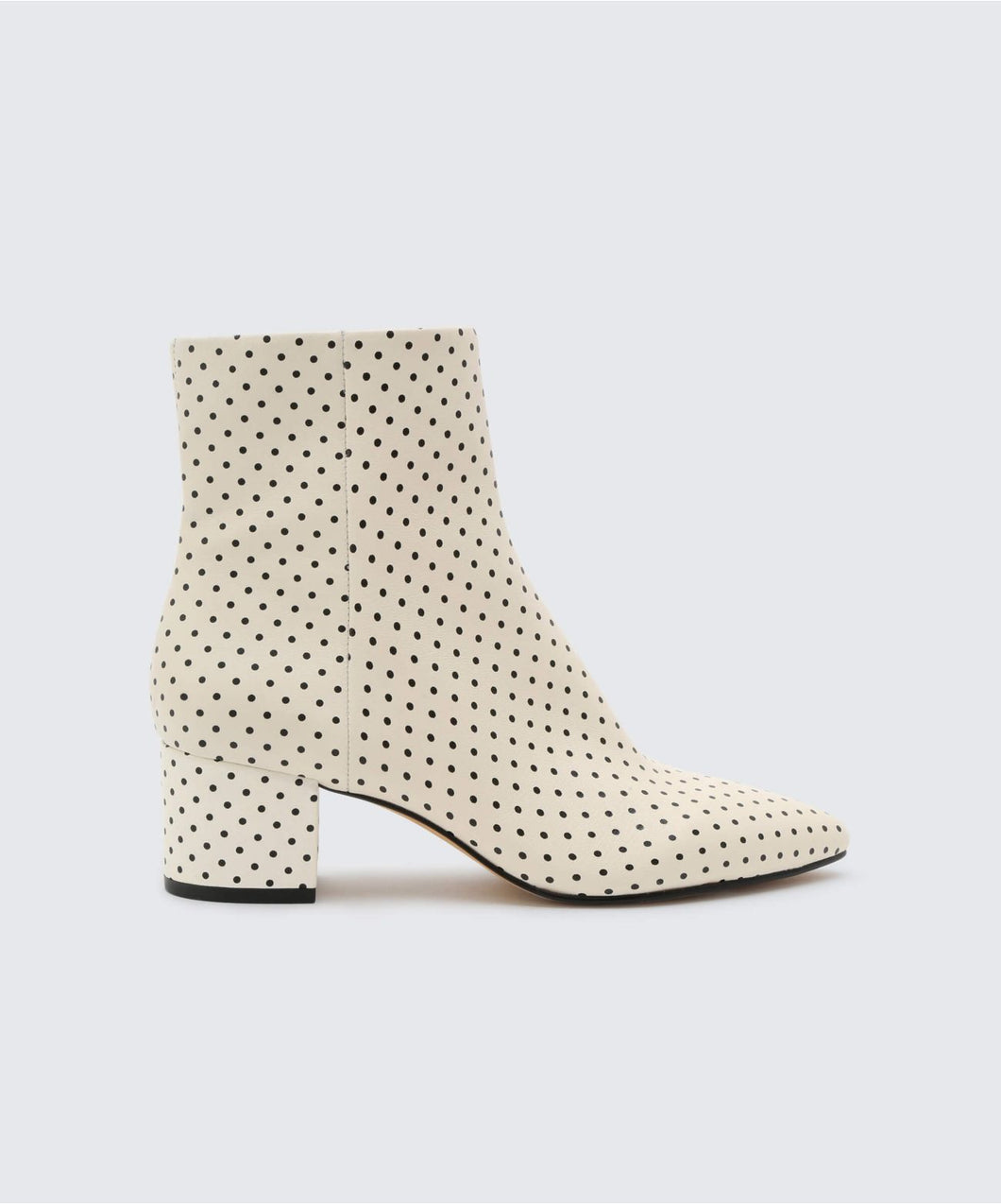 BEL BOOTIES IN WHITE/BLACK -   Dolce Vita