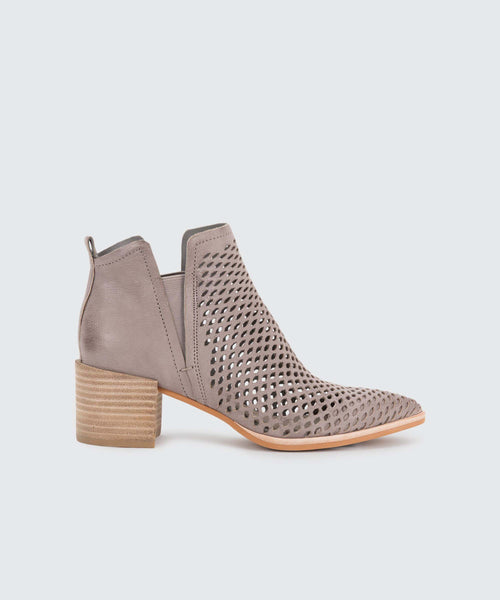 BIANCA BOOTIES IN GREY -   Dolce Vita
