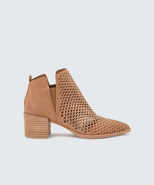 BIANCA BOOTIES IN SADDLE -   Dolce Vita