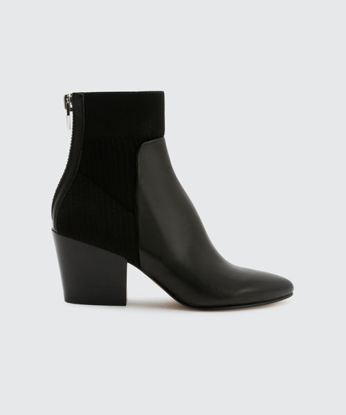 CARIS BOOTIES IN BLACK -   Dolce Vita