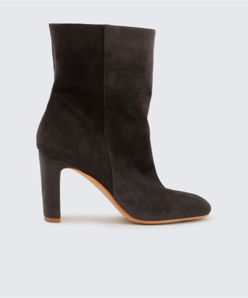 CHASE BOOTIES IN ANTHRACITE -   Dolce Vita