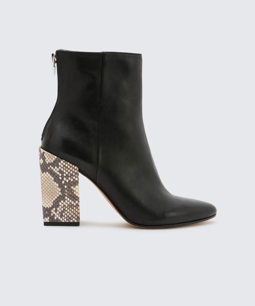 COBY BOOTIES IN BLACK -   Dolce Vita