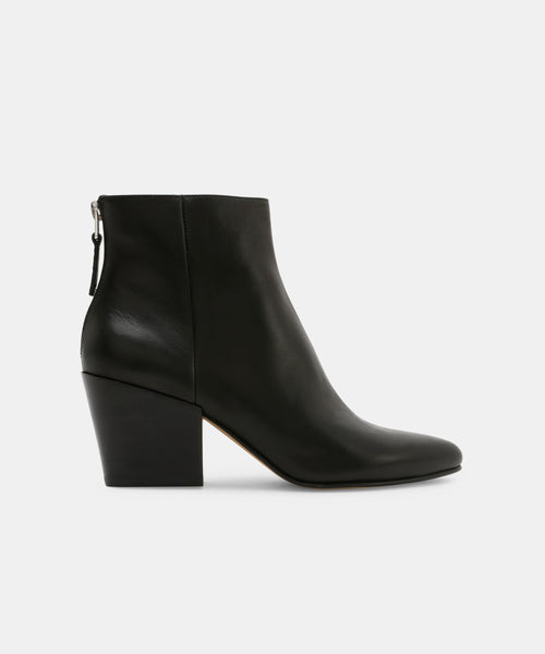 COLTYN BOOTIES IN BLACK -   Dolce Vita