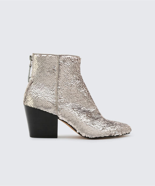 COLTYN BOOTIES IN CHROME -   Dolce Vita