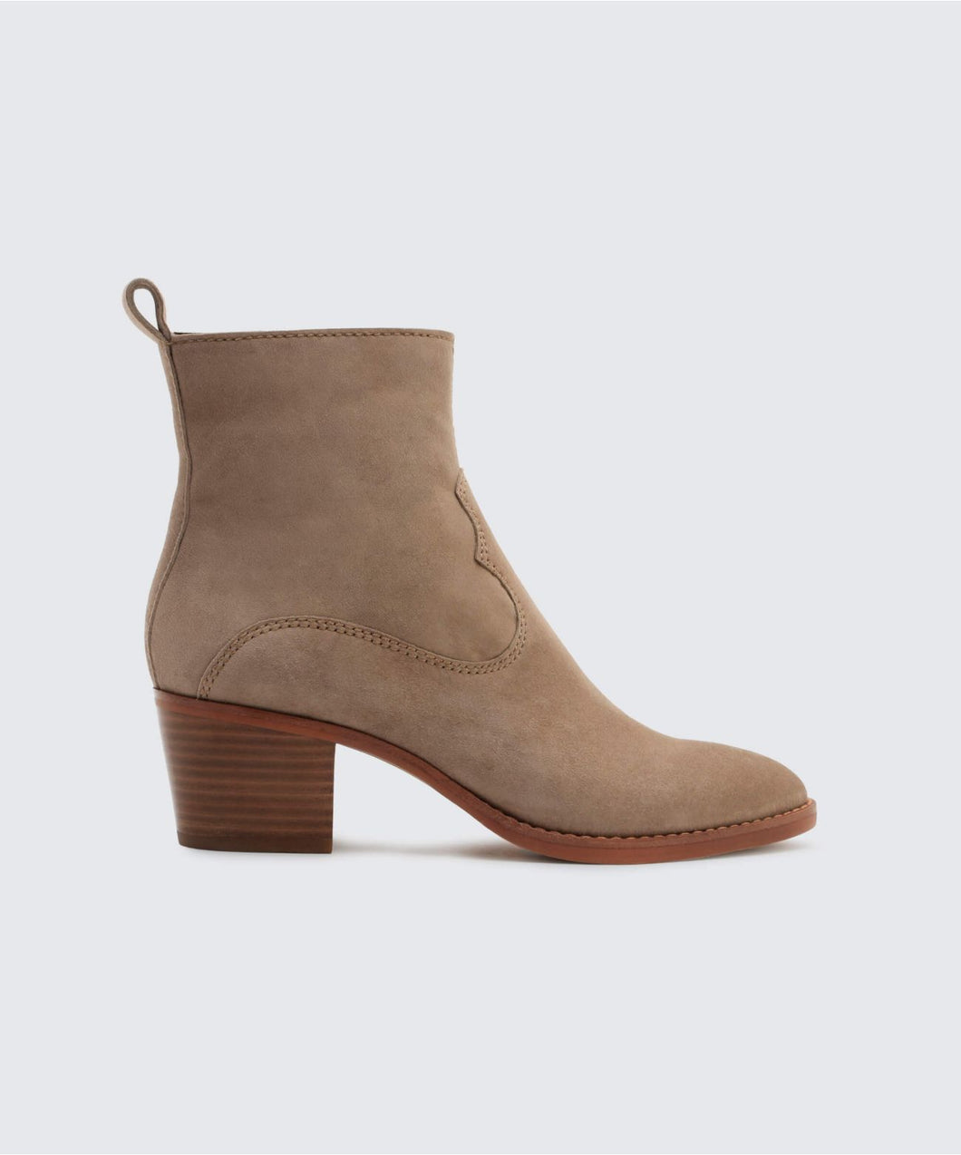 DALISS BOOTIES IN DK TAUPE -   Dolce Vita