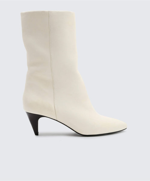 DAVI BOOTIES IN OFF WHITE -   Dolce Vita