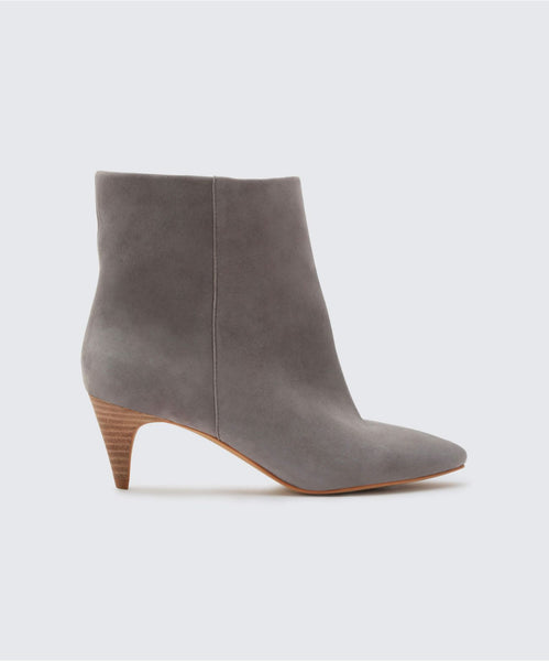 DEEDEE BOOTIES IN SMOKE -   Dolce Vita