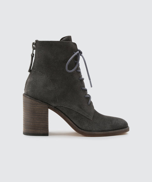 DREW BOOTIES IN ANTHRACITE -   Dolce Vita