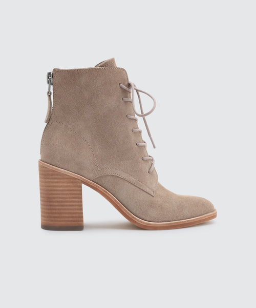 DREW BOOTIES IN DK TAUPE -   Dolce Vita