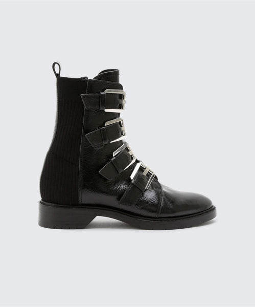 GAVEN BOOTIES IN BLACK -   Dolce Vita