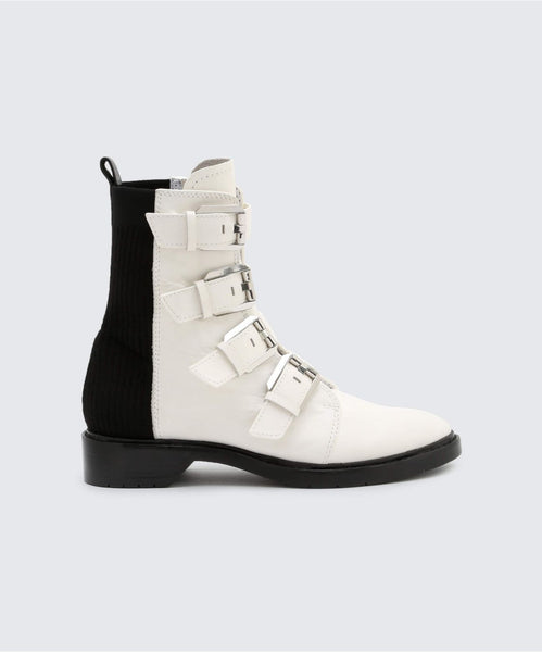 GAVEN BOOTIES OFF WHITE -   Dolce Vita