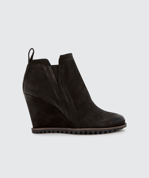 GIANNI BOOTIES IN BLACK -   Dolce Vita