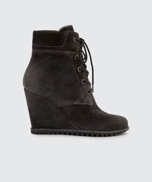 GIBBS BOOTIE IN ANTHRACITE -   Dolce Vita