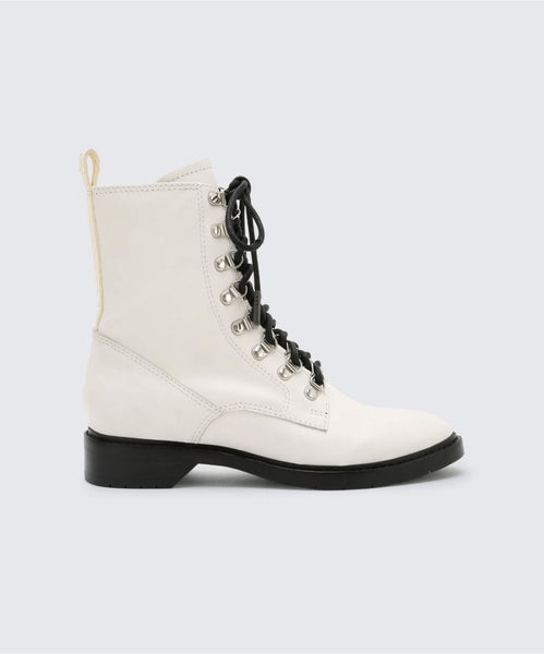 GILMAN BOOTIES OFF WHITE -   Dolce Vita