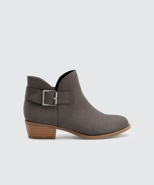 GRACI BOOTIES IN SLATE -   Dolce Vita