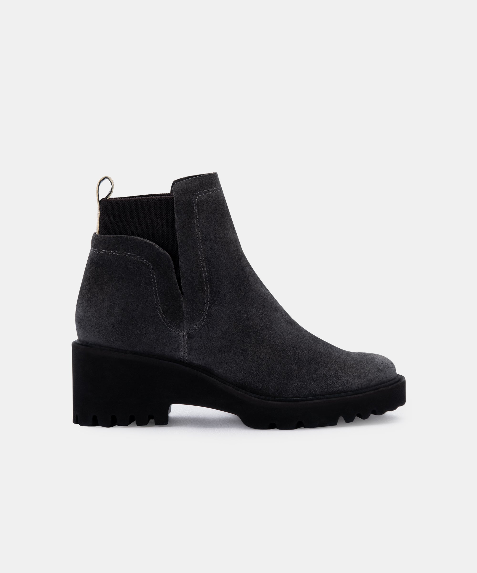 HUEY BOOTIES IN ANTHRACITE