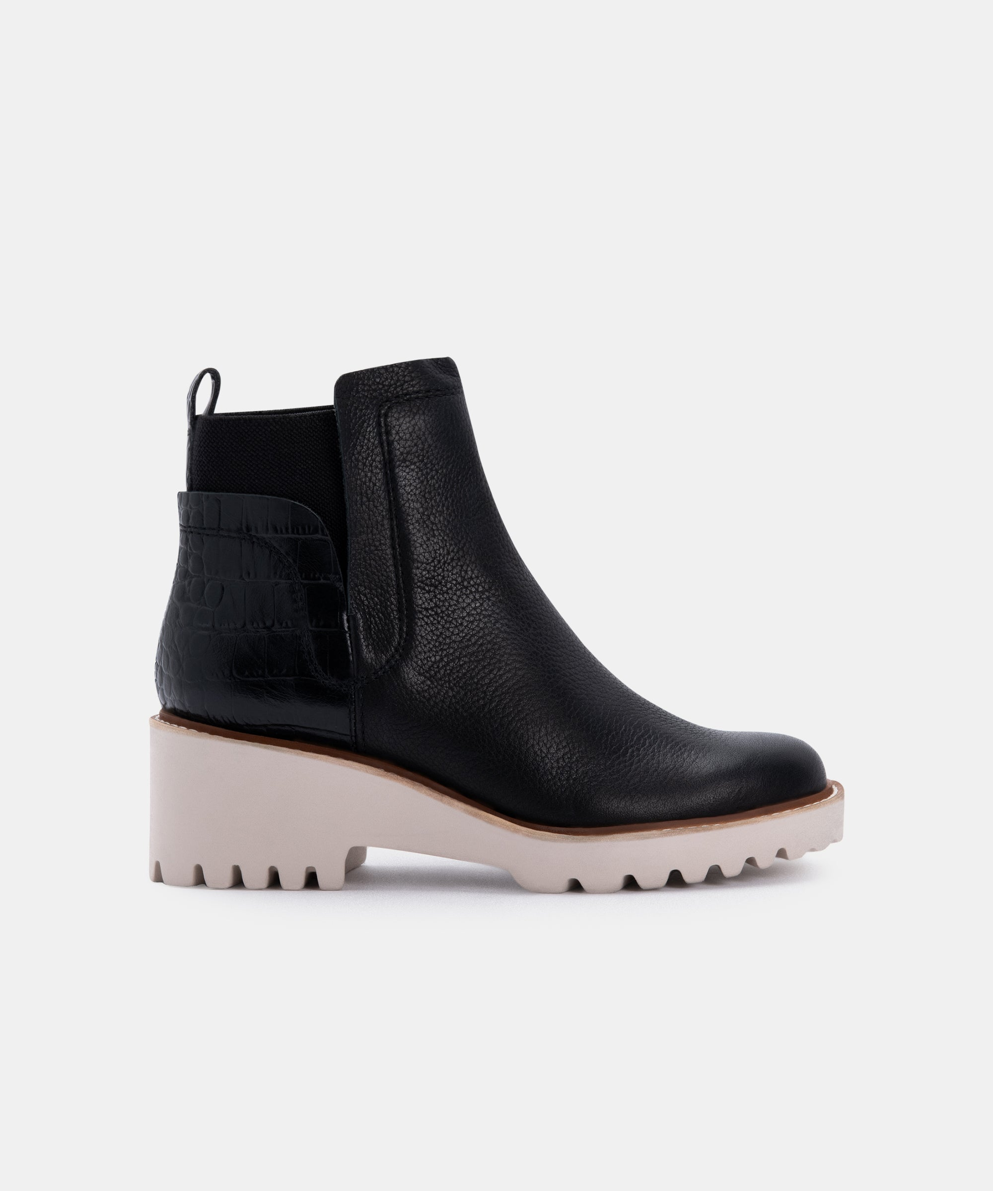 HUEY BOOTIES IN BLACK