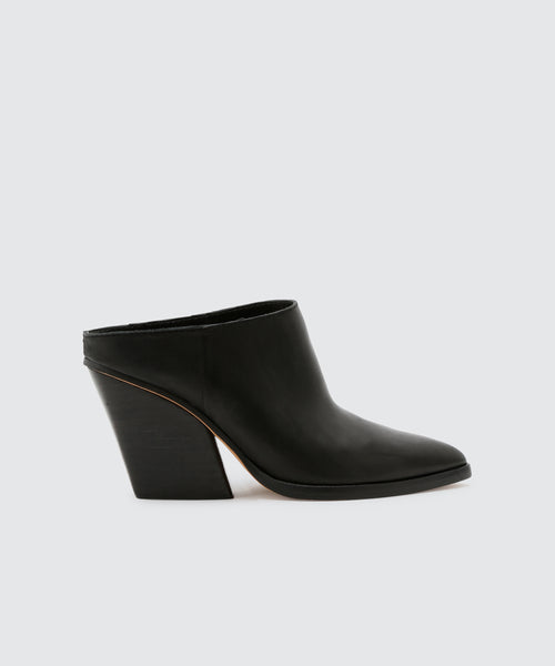IRA MULES IN BLACK -   Dolce Vita