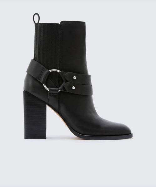 ISARA BOOTIES BLACK -   Dolce Vita