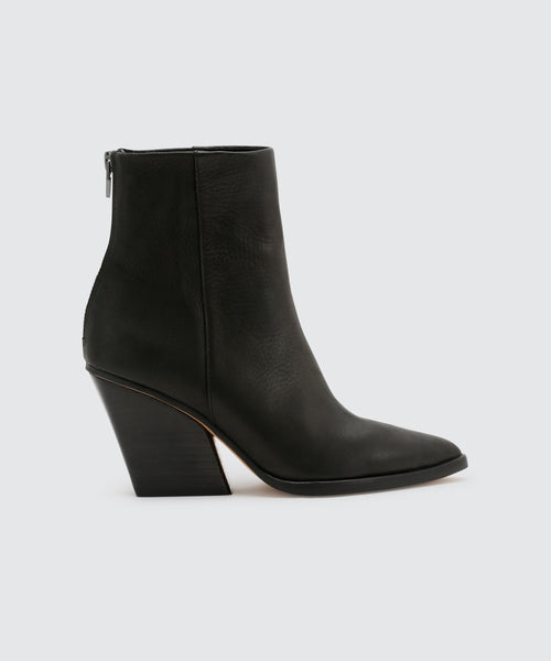 ISSA BOOTIES IN BLACK -   Dolce Vita