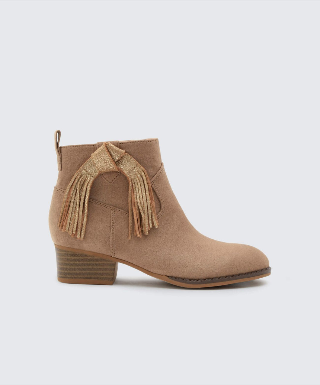 JADA BOOTIES IN ALMOND -   Dolce Vita