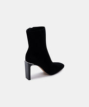 KELSIE BOOTIES IN BLACK SUEDE -   Dolce Vita