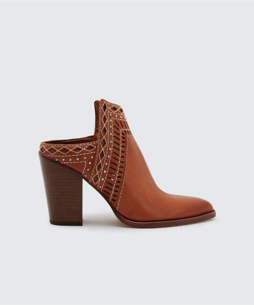 KHIA MULES IN BROWN -   Dolce Vita